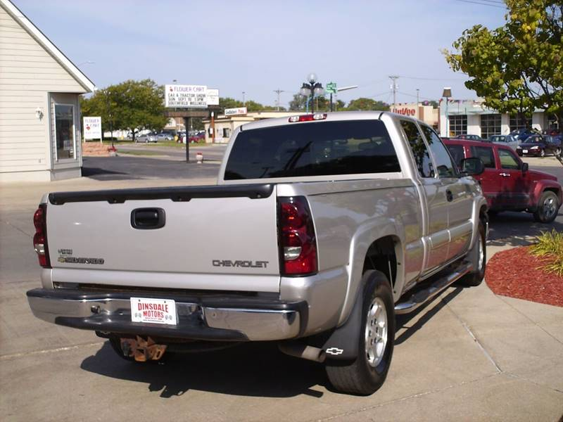 2004 Chevrolet Silverado 1500 4dr Extended Cab LS 4WD SB - Webster City IA