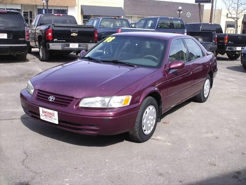Superior 1998 Toyota Camry LE 4dr Sedan   Webster City IA