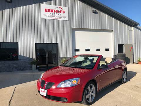 2007 Pontiac G6 for sale in Webster City, IA