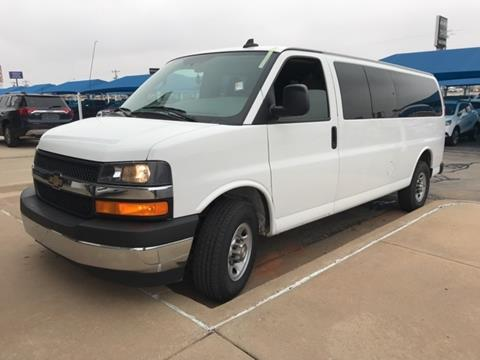 2017 Chevrolet Express Passenger for sale in El Reno, OK