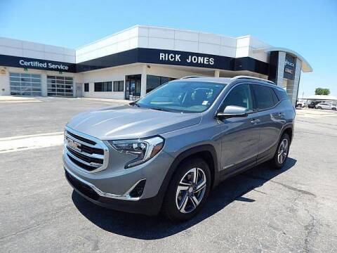 2020 GMC Terrain for sale at RICK JONES BUICK, GMC, INC. in El Reno OK