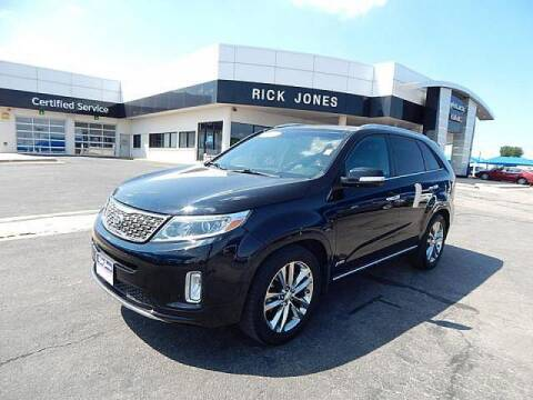 2015 Kia Sorento for sale at RICK JONES BUICK, GMC, INC. in El Reno OK
