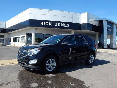 2017 Chevrolet Equinox for sale at RICK JONES BUICK, GMC, INC. in El Reno OK
