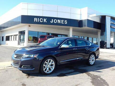 2019 Chevrolet Impala for sale at RICK JONES BUICK, GMC, INC. in El Reno OK