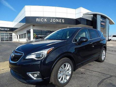 2020 Buick Envision for sale at RICK JONES BUICK, GMC, INC. in El Reno OK