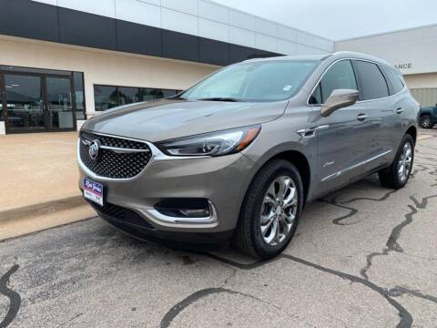 2018 Buick Enclave for sale at RICK JONES BUICK, GMC, INC. in El Reno OK