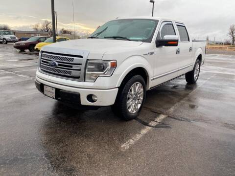 2013 Ford F-150 for sale at RICK JONES BUICK, GMC, INC. in El Reno OK