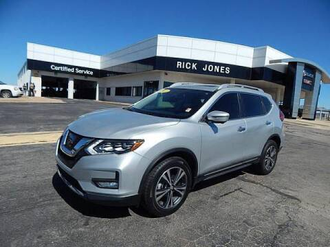 2017 Nissan Rogue for sale at RICK JONES BUICK, GMC, INC. in El Reno OK