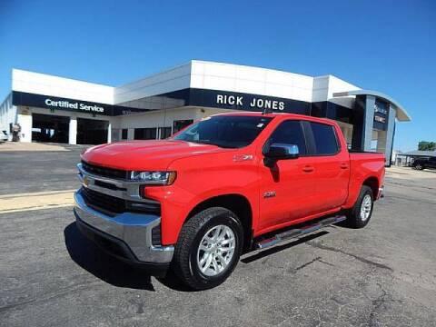 2019 Chevrolet Silverado 1500 for sale at RICK JONES BUICK, GMC, INC. in El Reno OK