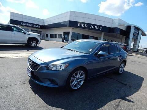 2016 Mazda MAZDA6 for sale at RICK JONES BUICK, GMC, INC. in El Reno OK
