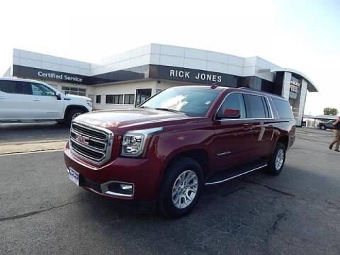 2019 GMC Yukon XL for sale at RICK JONES BUICK, GMC, INC. in El Reno OK