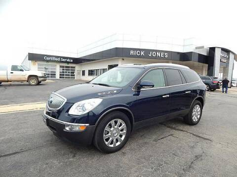 2012 Buick Enclave for sale at RICK JONES BUICK, GMC, INC. in El Reno OK