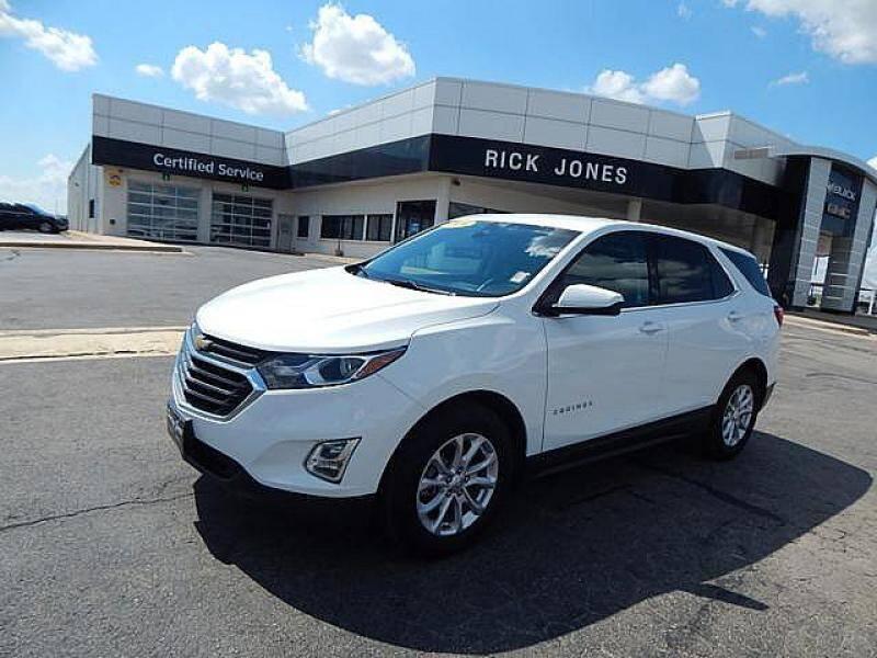 2020 Chevrolet Equinox for sale at RICK JONES BUICK, GMC, INC. in El Reno OK