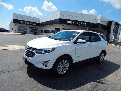 2020 Chevrolet Equinox for sale at RICK JONES BUICK, GMC, INC. in El Reno OK