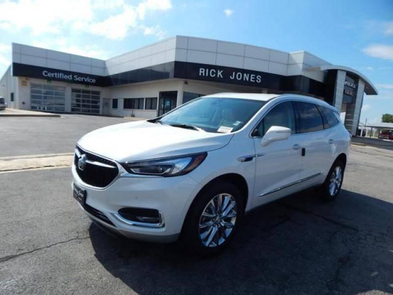 2020 Buick Enclave for sale at RICK JONES BUICK, GMC, INC. in El Reno OK