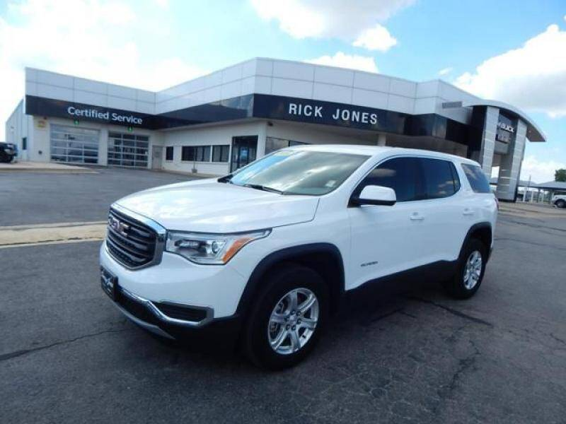 2019 GMC Acadia for sale at RICK JONES BUICK, GMC, INC. in El Reno OK