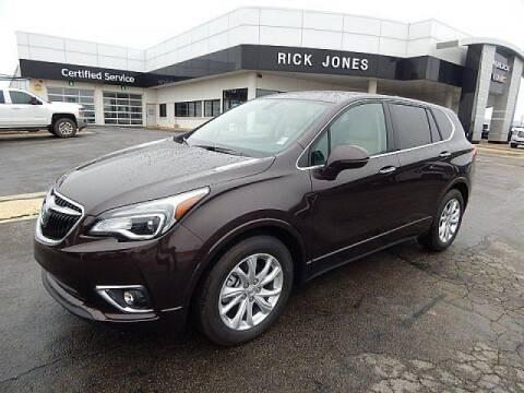 2020 Buick Envision for sale at RICK JONES BUICK, GMC, INC. in El Reno OK