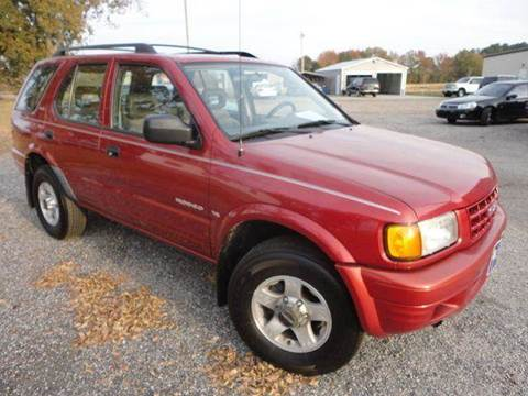 1999 Isuzu Rodeo for sale at Big A Auto Sales Lot 2 in Florence SC