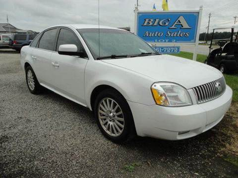 2007 Mercury Montego for sale at Big A Auto Sales Lot 2 in Florence SC