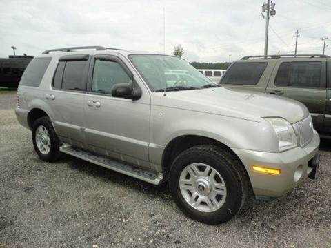 2003 Mercury Mountaineer for sale at Big A Auto Sales Lot 2 in Florence SC