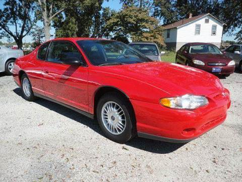 2000 Chevrolet Monte Carlo for sale at Big A Auto Sales Lot 2 in Florence SC