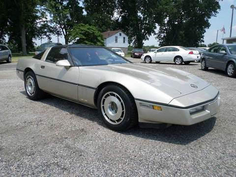 1987 Chevrolet Corvette for sale at Big A Auto Sales Lot 2 in Florence SC