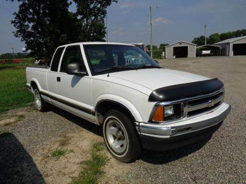 1996 Chevrolet S-10 for sale at Big A Auto Sales Lot 2 in Florence SC