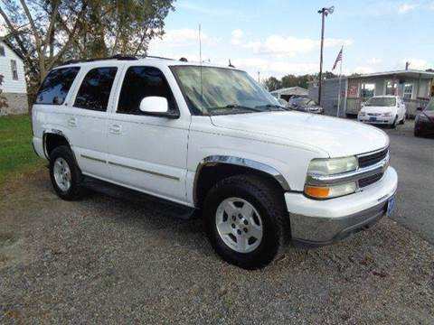 2004 Chevrolet Tahoe for sale at Big A Auto Sales Lot 2 in Florence SC