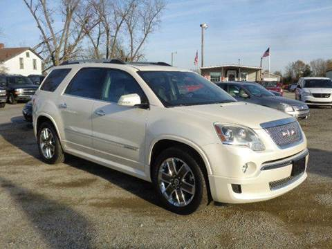 2012 GMC Acadia for sale at Big A Auto Sales Lot 2 in Florence SC