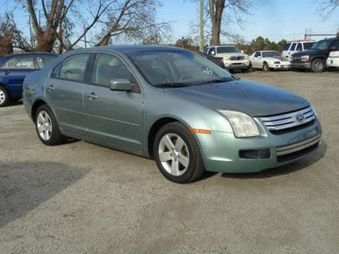 2006 Ford Fusion for sale at Big A Auto Sales Lot 2 in Florence SC