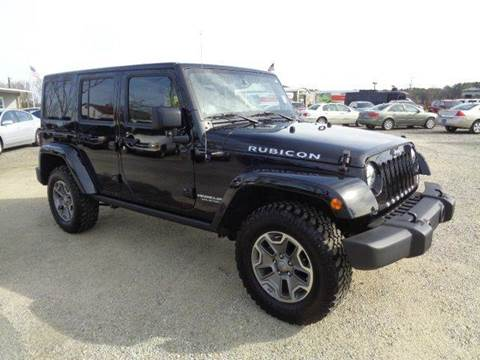2014 Jeep Wrangler Unlimited for sale at Big A Auto Sales Lot 2 in Florence SC