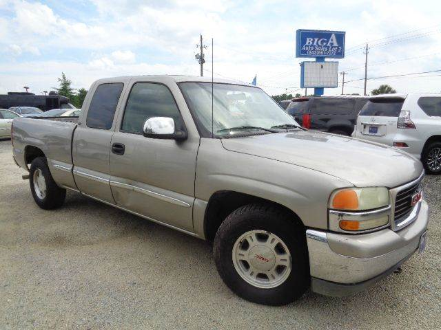2000 Gmc Sierra 1500 Sle 3dr Extended Cab Sb In Florence Sc