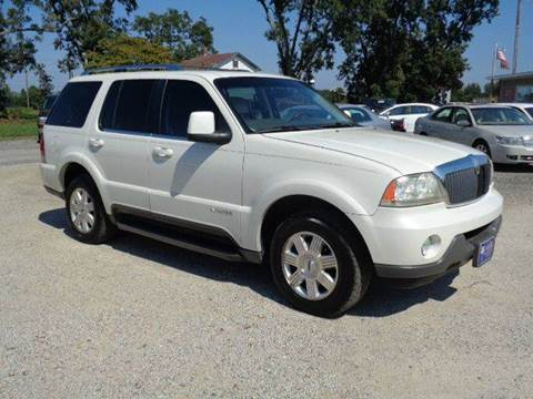 2004 Lincoln Aviator for sale at Big A Auto Sales Lot 2 in Florence SC