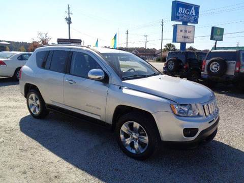 2012 Jeep Compass for sale at Big A Auto Sales Lot 2 in Florence SC
