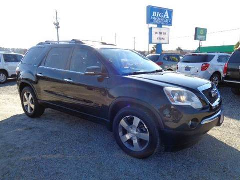 2011 GMC Acadia for sale at Big A Auto Sales Lot 2 in Florence SC