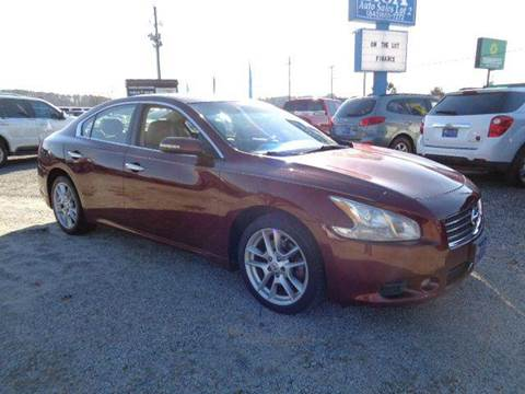 2009 Nissan Maxima for sale at Big A Auto Sales Lot 2 in Florence SC