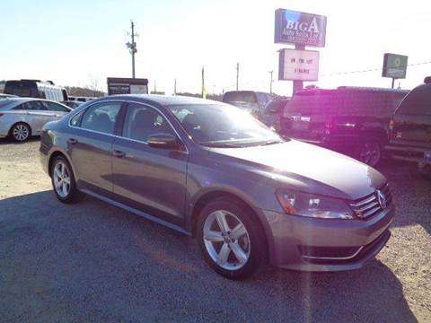 2013 Volkswagen Passat for sale at Big A Auto Sales Lot 2 in Florence SC