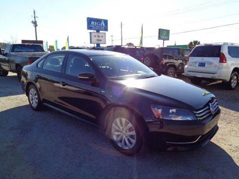 2014 Volkswagen Passat for sale at Big A Auto Sales Lot 2 in Florence SC