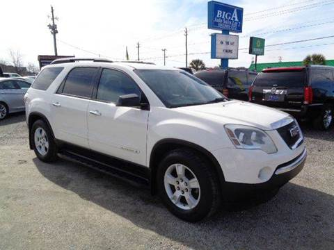 2007 GMC Acadia for sale at Big A Auto Sales Lot 2 in Florence SC