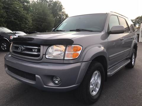 2001 Toyota Sequoia for sale at Action Automotive Service LLC in Hudson NY