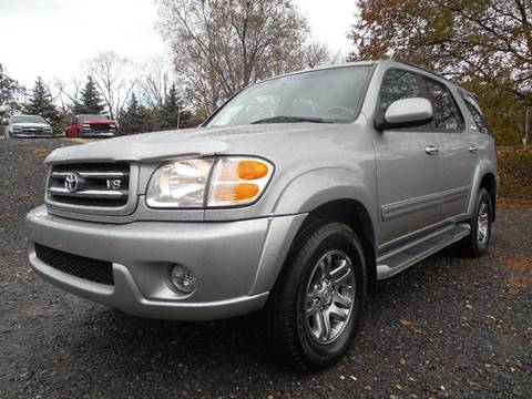 2004 Toyota Sequoia for sale at Action Automotive Service LLC in Hudson NY