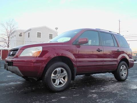 2003 Honda Pilot for sale at Action Automotive Service LLC in Hudson NY