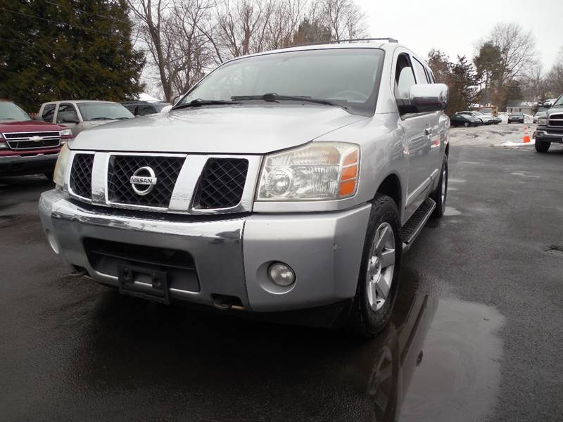 2004 Nissan Armada Le 4wd 4dr Suv In Hudson Ny Action Automotive