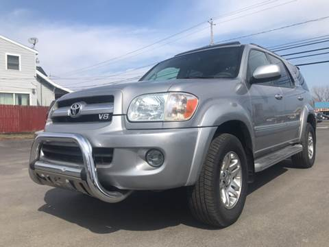 2006 Toyota Sequoia for sale at Action Automotive Service LLC in Hudson NY