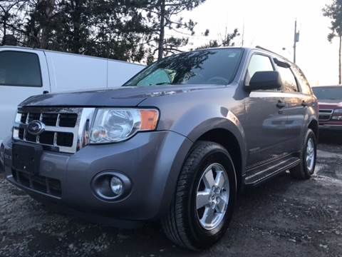 2008 Ford Escape for sale at Action Automotive Service LLC in Hudson NY
