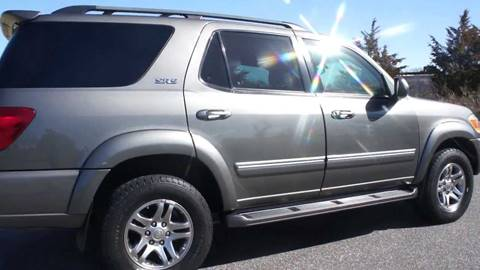 2005 Toyota Sequoia for sale at Action Automotive Service LLC in Hudson NY