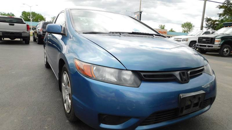 2008 Honda Civic LX 2dr Coupe 5A In Hudson NY - Action