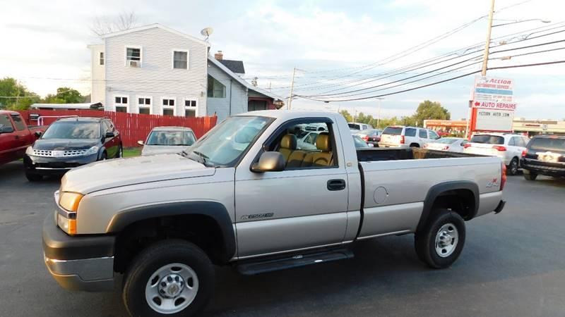 2004 Chevrolet Silverado 2500hd 2dr Regular Cab Work Truck