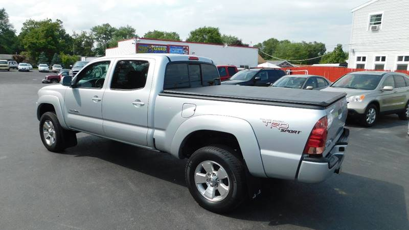 2008 Toyota Tacoma 4x4 V6 4dr Double Cab 6 1 ft  SB 5A In