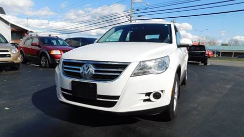 2011 Volkswagen Tiguan for sale at Action Automotive Service LLC in Hudson NY
